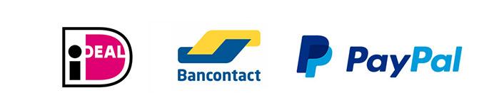 Veilig doneren met iDEAL, Bancontact en PayPal